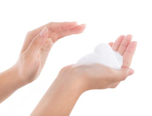 正しい洗顔方法とは…と、聞かれたらどう答えますか?